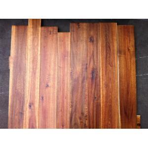 China big leaf solid Acacia wood flooring on sale