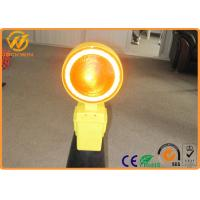Construction Site Battery Operated LED Blinking Warning Light for Traffic Cone