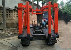 China Tractor Mounted Engineering Drilling Rig , Mining Core Drilling Equipment 220v on sale