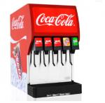 460W Coke Drink Dispenser 38L Water Tank With Ice Bank Cooling