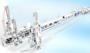 China pvc/wpc profiles extrusion line on sale