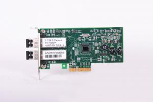 China IEEE802.3 Standard SFP Slot*2 PCI-E Slot Intel 82571EB Gigabit Ethernet Network Card on sale