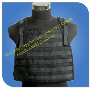 China aramid molle level 4 anti bullet military vest on sale