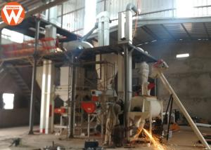 China Strongwin 2-3T/H Chicken Poultry Feed Mill Plant Installation In Mauritania on sale