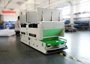 China Wheel Steering Driving Omni Directional Roller Conveyor AGV Cart RFID Card Guided on sale