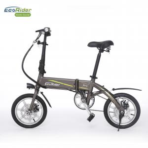 China Smart Foldable Electric Biker 2 Wheel Electric Bike With Removeable Lithium Battery on sale