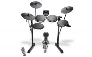 China Alesis DM6 Nitro Kit | Eight-Piece Compact Beginner Electronic Drum Set with 8 Snare, 8 Toms, & 12 Cymbals on sale