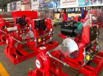 750GPM 116PSI Diesel Engine Fire Pump With Tornatech Controller