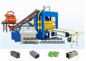 China 4-15 fully automatic concrete hollow block color paving block machine on sale