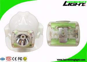 China Rechargeable Miners Helmet Light , Portable Coal Wireless Hard Hat Led Lights13000 Lux supplier