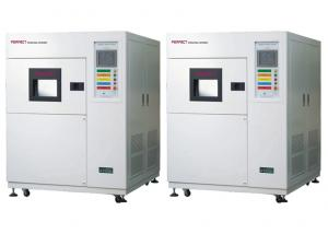 Quality High Low Temperature Thermal Shock Test Equipment 3 Chambers Hot Cold Impact for sale
