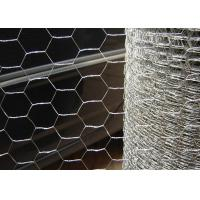 China *1/2 Inch*1.2M*25M Hexagonal Chicken Wire Hot Dipped Galvanized 24 Gauge on sale