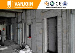 China Fire Rated Composite Polystyrene Concrete Wall Panels Sound Insulation on sale