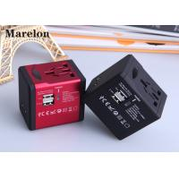 Residential Commercial Travel Power Adapter Five Colors Option Plug With Socket