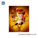 Colorful 3D Poster , 3D Lenticular Picture Poster , Customer Poster Printing For NBA Advertising