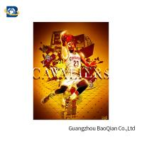 Colorful 3D Lenticular Poster Printing For NBA Advertising 50 * 71cm
