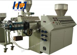 China Three extruder  recycled coextrusion plastic pipe extrusion machine on sale