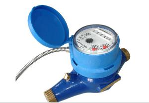Quality Valve Control Wired Remote Reading AMR Water Meter 15mm , 20mm , 25mm for sale