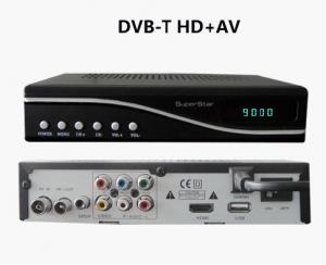 China Self - installing  Cinch 8MHz 16bit 565 OSD Satellite Receiver DVB-T with GUI Architure on sale