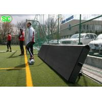 Advertisement Video Stadium Led Display Screens With Soft Protecting Mask
