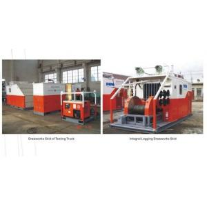 China Skid Mounted HSJ70 Oilfield Vehicles Wireline Logging Unit With Electrical Drive on sale
