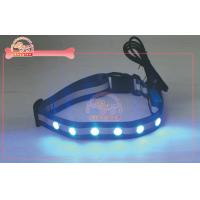 """USB Rechargeable high visibility flashing dog collar fit for 14"""" to 20"""" neck / puppy collars"""
