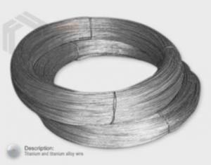 China Titanium and Titanium Alloy Wire on sale