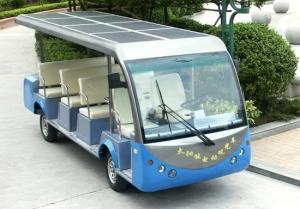 PV Solar Powered Electric Car Deployed 350 KW Flexible Solar