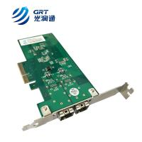 China Marcas tarjeta de red Gigabit Ethernet NIC card 1GbE 2 port SFP Fiber Network Card on sale
