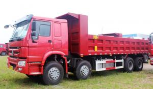 China Sinotruk Heavy Duty Dump Truck 8x4 Used For Construction Projet In African Countries on sale