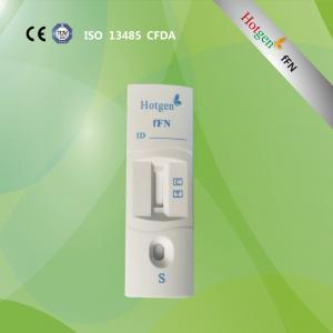 China fFN one step rapid test cassette for premature delivery risk on sale