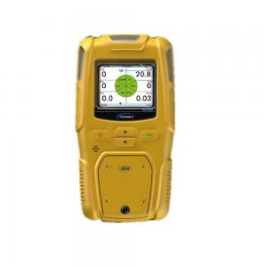 China Portable Hydrogen Gas Detector / Portable Gas Detection Monitors High Definition Display on sale