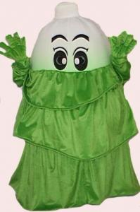 Quality custom handmade chinese cabbage mascot cartoon vegetable costumes for cosplay for sale