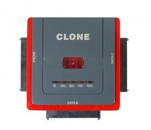 """Quality USB2.0 TO 2.5 3.5"""" SATA x3 hard disk Support offline cloning 888U2S for sale"""