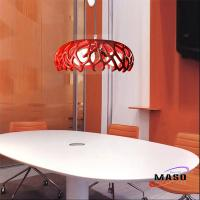 Maso Coral Home resin pendant light Residential Lighting Application Three Lamps