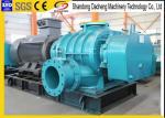Desulfurization Tri Lobe Roots Blower , Mining High Pressure Roots Blower