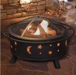 Amazon Hot Selling 32 Inch  round Burning Charcoal BBQ grill  Wood buring outdoor fire pit