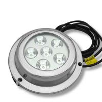 6X3W IP68 18W LED boat dock light ocean led underwater light,LED  pool light