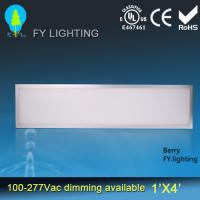 China 300mm * 1200mm Recessed Led Panel Light CE ROHS VDE  Listed on sale
