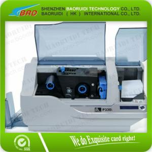 China Zebra P330i small plastic ID/ pvc card printer on sale