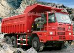 Heavy Duty Mining Dump Truck / Ten Ton Dump Truck With 14.00-25 Tyres