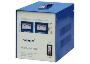 China Single Phase Relay Type Stabilizer , Automatic Voltage Stabilizer For Home Use 3000VA . on sale