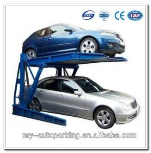 Tilting Car Lift Garage Storage Car Park System Manual Car Parking