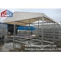 Lightweight Aluminium Exhibition Truss System100x100mm Size For Convenience