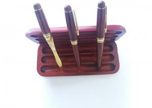 China Rosewood box with 1 ball pen 1 fountain pen 1 letter opener for gift or promotional. on sale