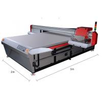 Fast Speed Printing Flatbed Uv Digital Printer Double LED UV Lamps With Water Cooling