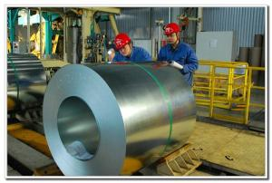 China Steel Prime Regular Spangle Galvanized Steel Coils/Galvanised GI Steel Rolls on sale