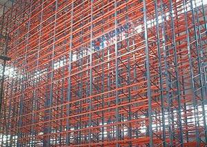 China Warehouse Automated Storage Retrieval System Computer Organized 1200 KG Max Load on sale