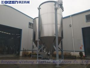 China 15 Tons Animal Vertical Feed Mixers , Fixed Cow Food Feed Mixing Equipment on sale