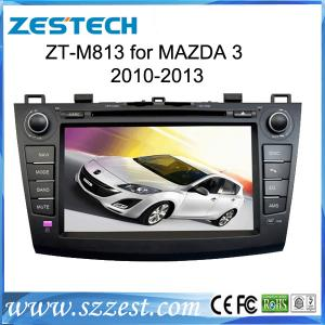 China ZESTECH Hot Sale car dvd player for Mazda 3 GPS/Radio/3G/Phonebook/ iPod/Bluetooth on sale